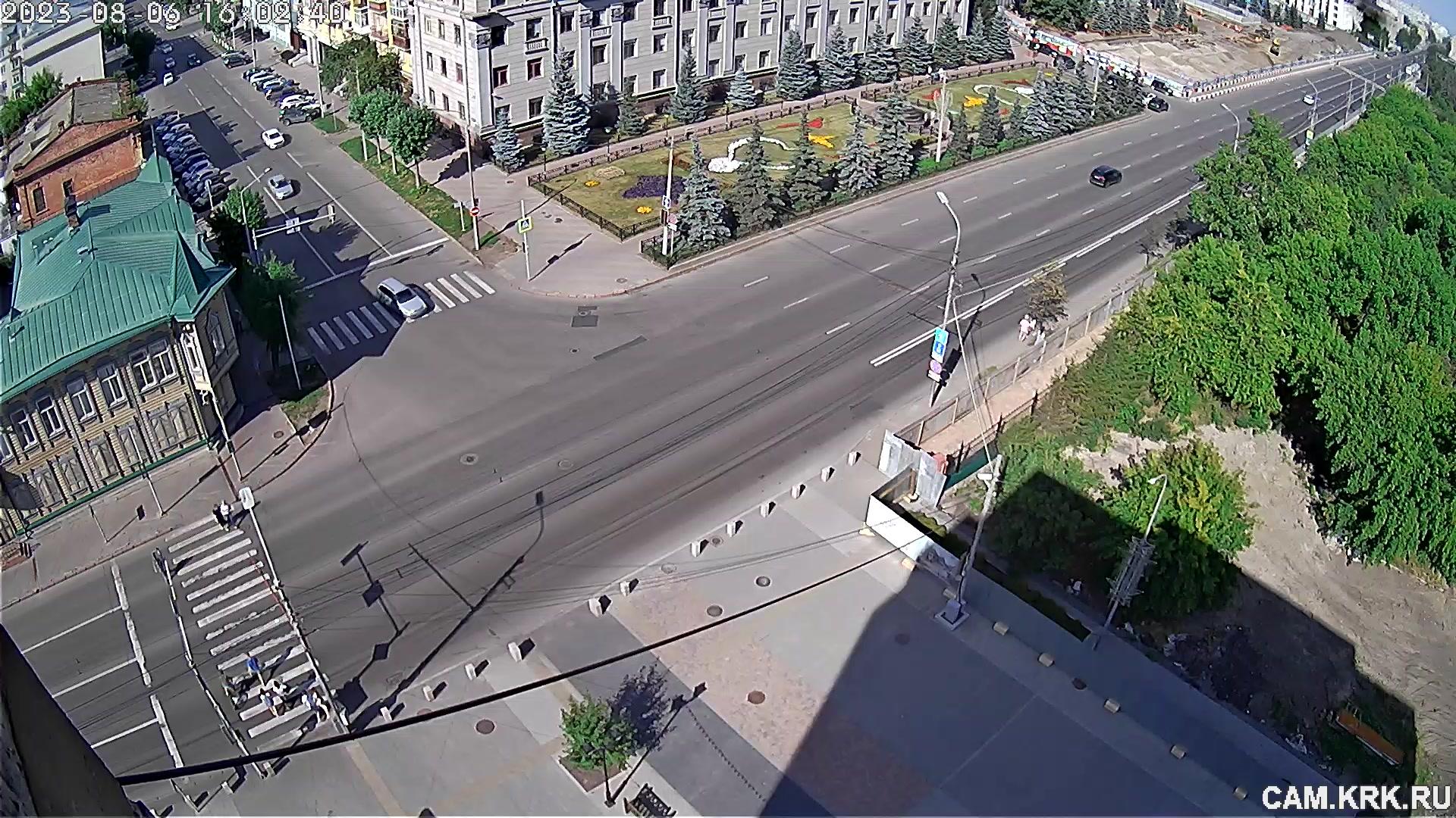 Веб камера Красноярск Управление Красноярской железной дороги