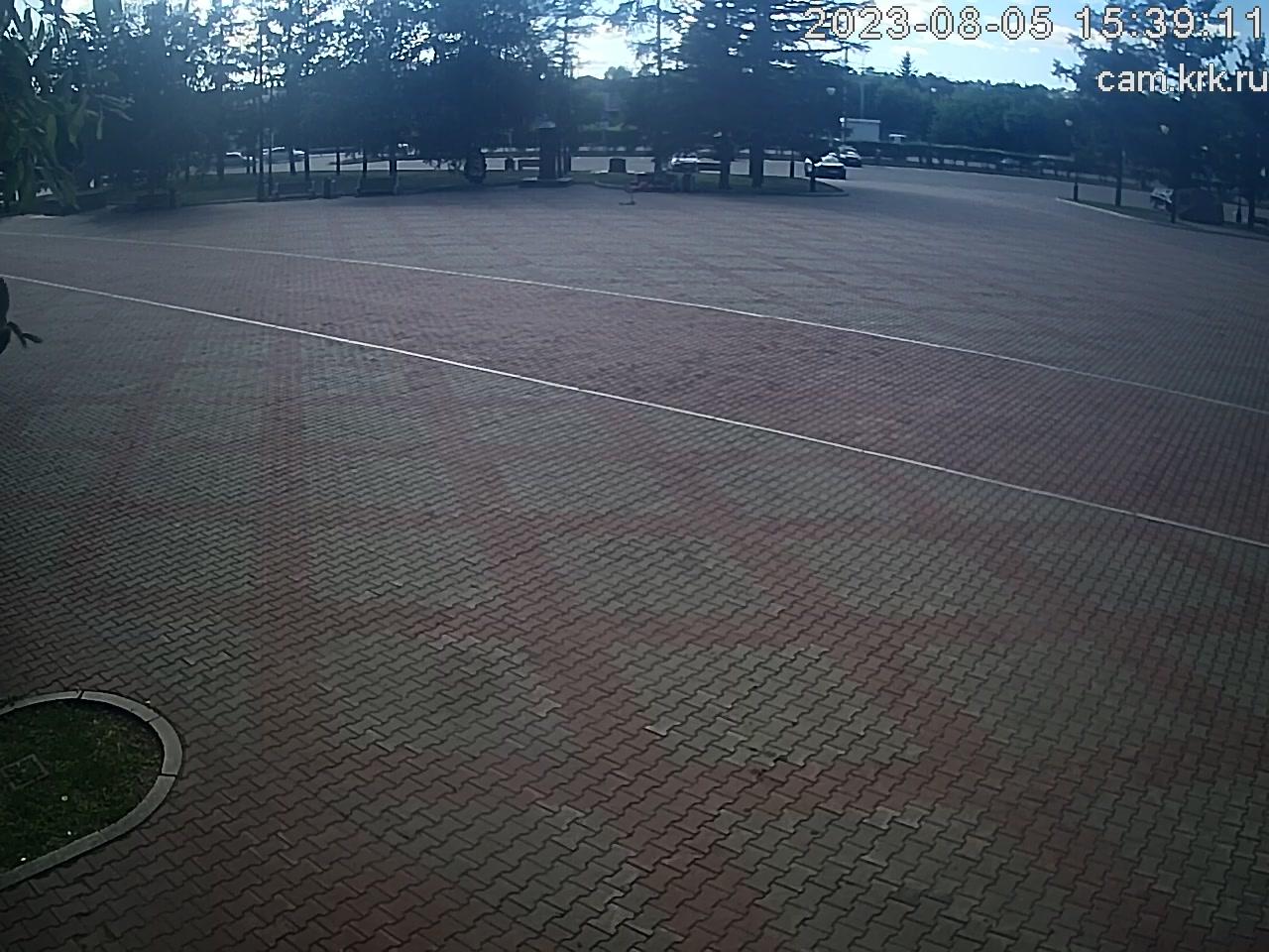 Веб камера Красноярск Площадь Победы